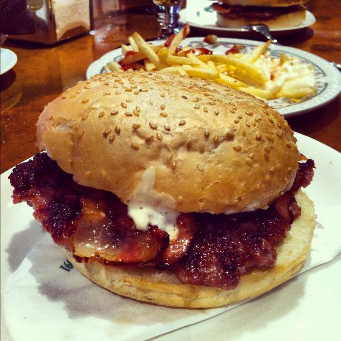 hamburguesa mostaza zaragoza