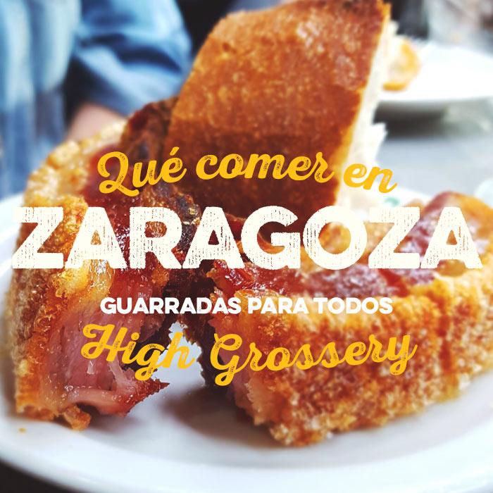 Qué comer en Zaragoza