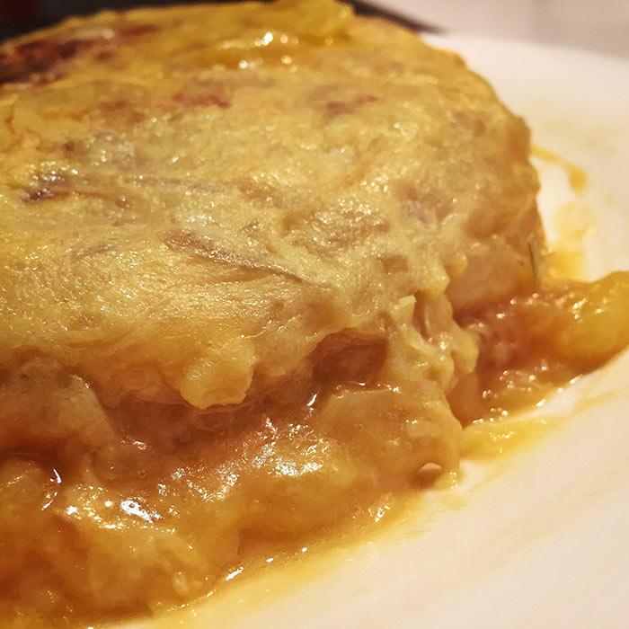Tortilla de patata 'Martín Berasategui'