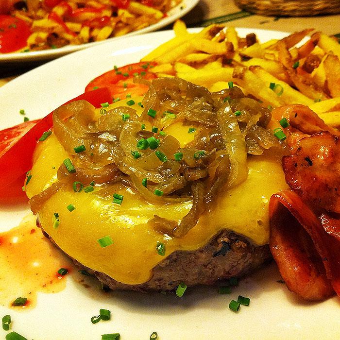 Hamburguesa tradicional Jalos