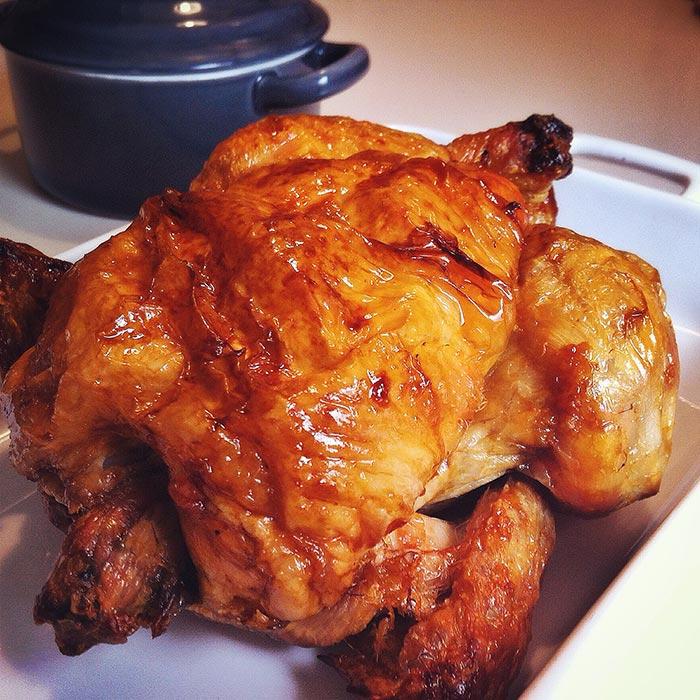 Pollo asado de El Corte Inglés