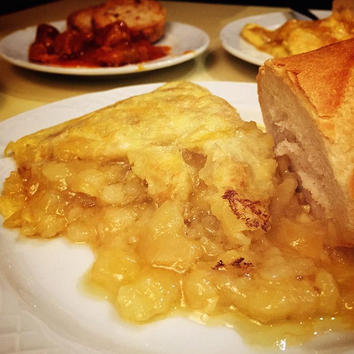 Tortilla de patata Sylkar Madrid