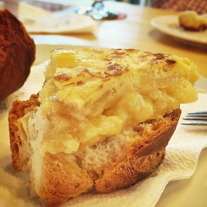 Tortilla de Patata de Grupo el Rincón