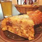 Tortilla de patata en zaragoza Coscolo