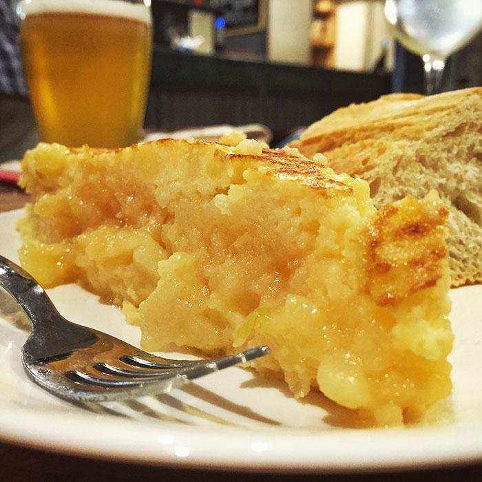 Tortilla de patata en Entresabores