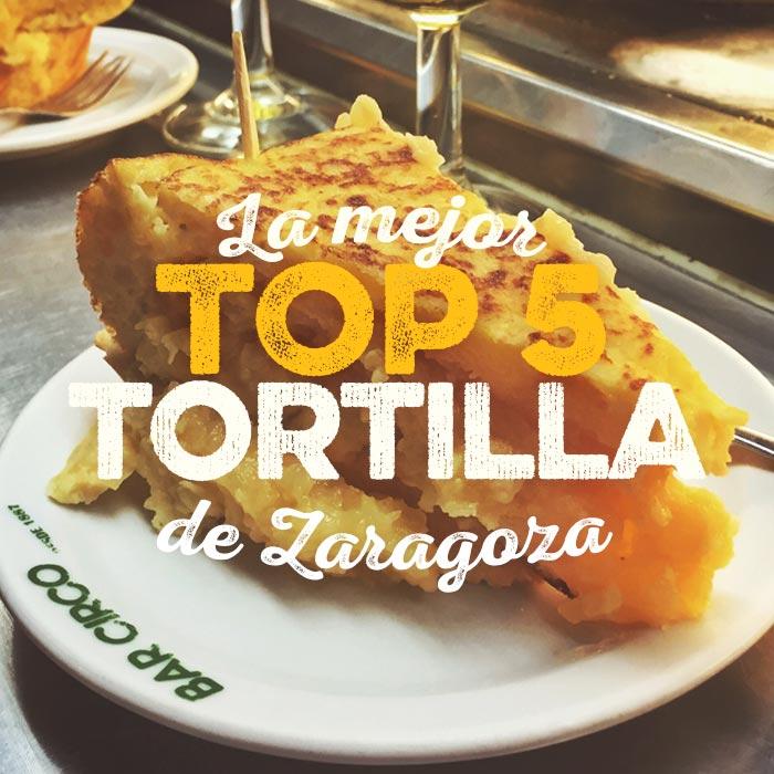 La mejor tortilla de patata de Zaragoza