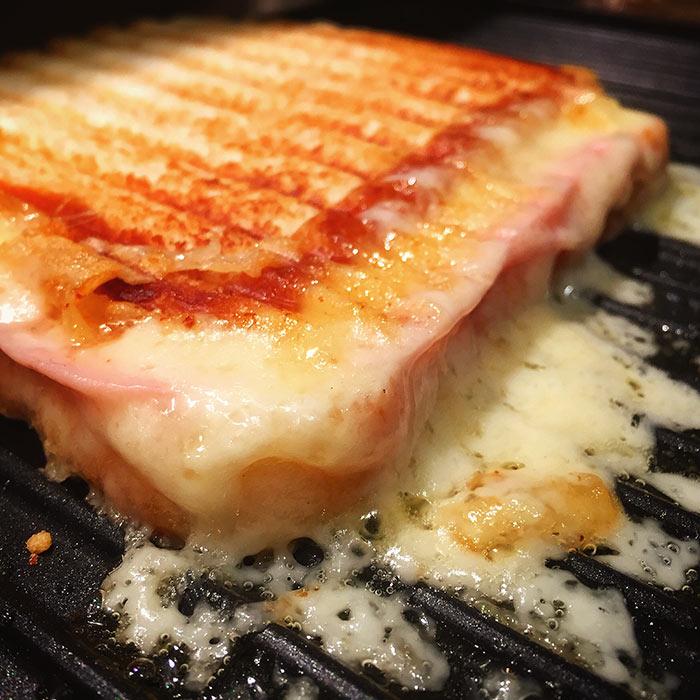 Sandwich grosero al grill
