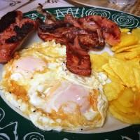 huevos fritos del gran venecia