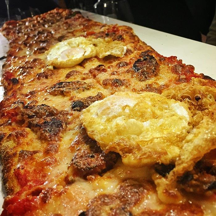Pizza Aragonesa en Metrópolis