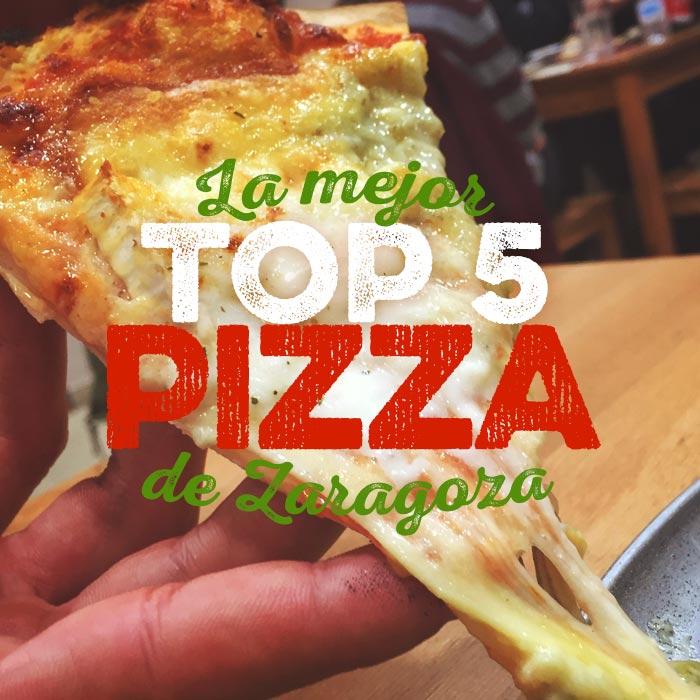la mejor pizza de zaragoza