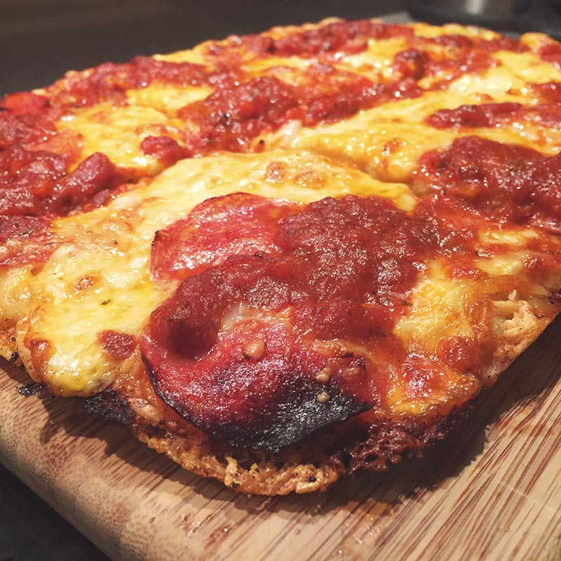 receta de pizza detroit