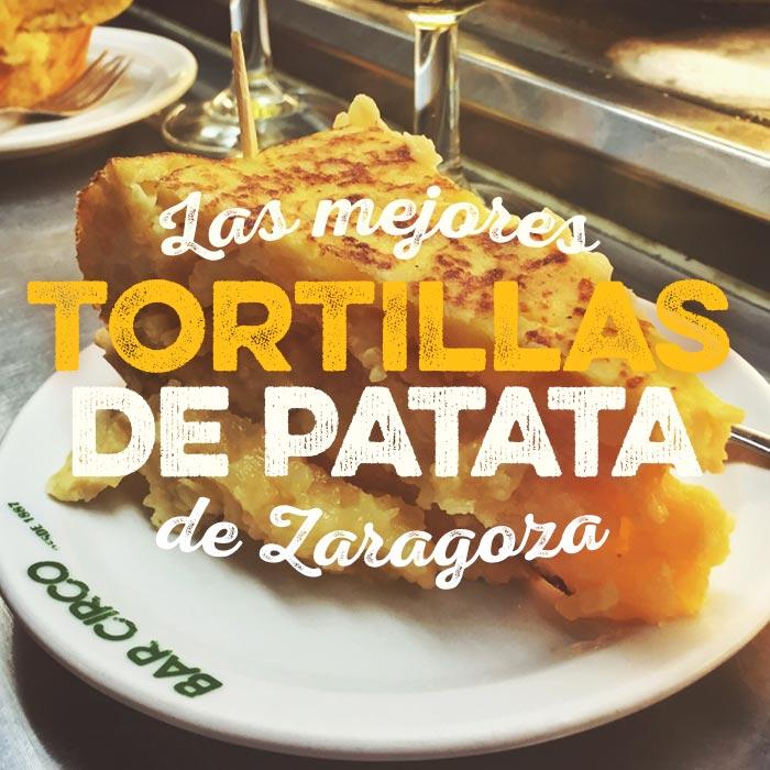 Las mejores tortillas de patata de Zaragoza