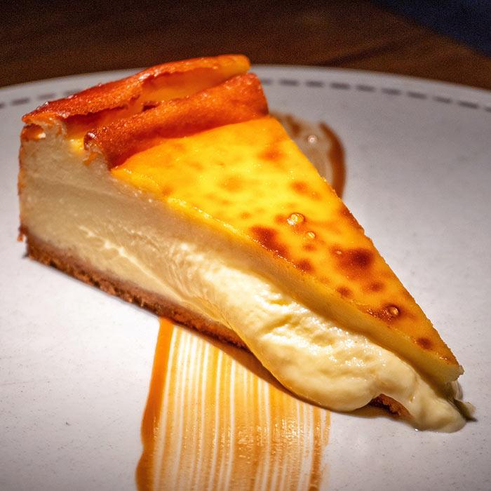 Tarta de queso en La Maruca